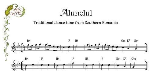 Alunelul in Bass Clef