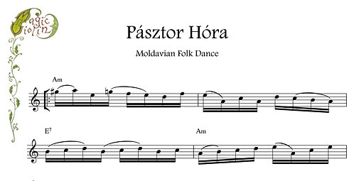 Pasztor Hora for Eb Instruments