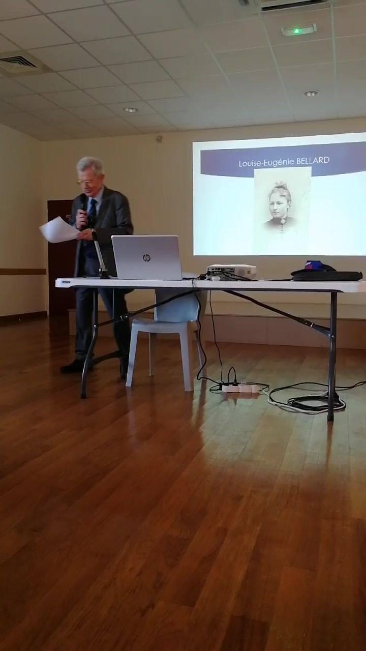 La conférence de Bernard Pénisson.