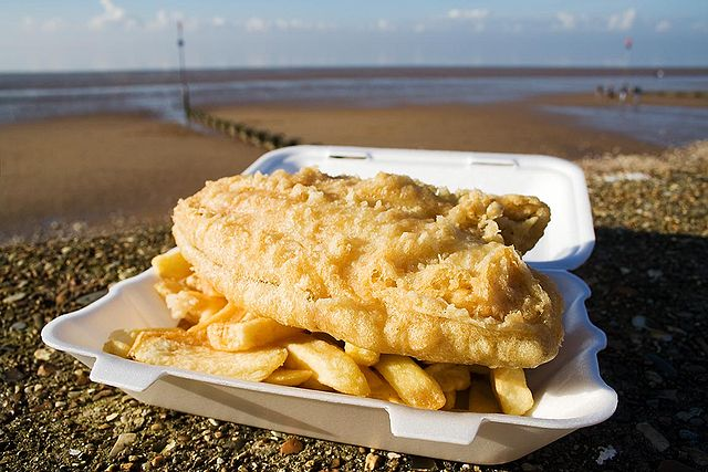 Fish-and-Chips-Eastbourne-Beach