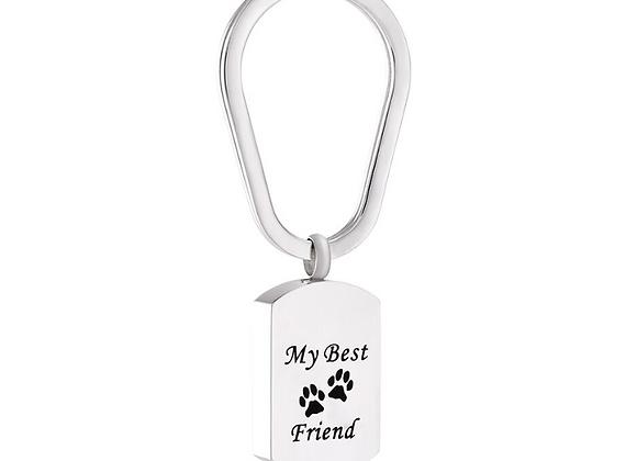 My Best Friend Urn Key Chain