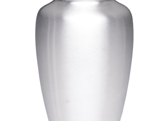 Silver Alloy Cremation Urn