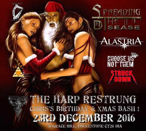 STD Harp restrung Xmas bash 2016 (3)