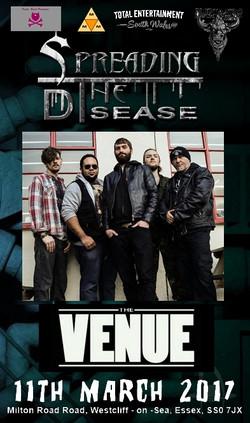 STD Poster essex the venue 2017 march