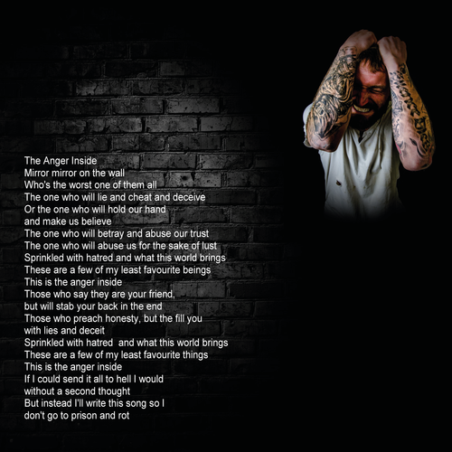 STD MINDCELL EP BOOKLET THE ANGER INSIDE