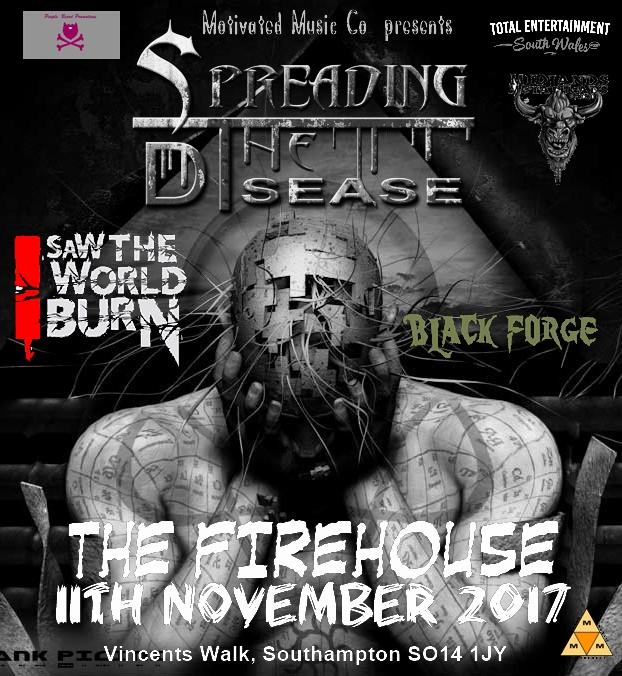STD Poster firehouse Southampton 2