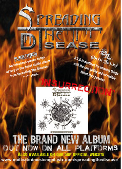STD - ALBUM RELEASE PRESENTATION INSURRECTION 20173