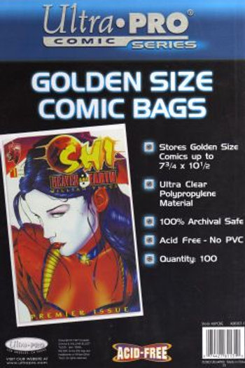 COMIC BAGS PHANTOM 100 1