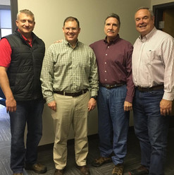 Encouraging day today in Rabun County. Enjoyed meeting with Commission Chairman Greg James, Commissioner Kent Woerner, and County Administrator Darrin Giles. Then had a very informative meeting with City of Clayton Mayor Jordan Green. Appreciate everyone's time to discuss how as their State Senator we can collaborate.