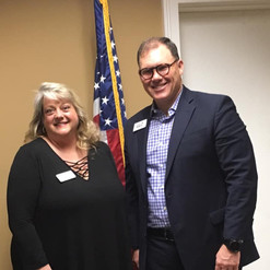 Big thanks to Banks County Chamber of Commerce Director, Alicia McAlister Andrews. Enjoyed the breakfast meeting.