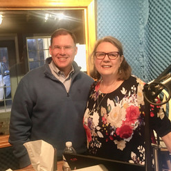 Up and out early this morning! Thank you Hazel Cording for inviting me to come on air and discuss the upcoming election and my bid for Georgia Senate District 50. Excited to serve!