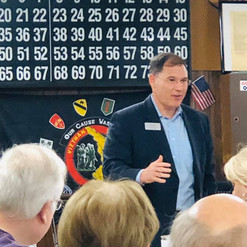 Great day packed with meetings across Senate District 50. Was honored to end the day as the guest speaker at the Habersham GOP meeting to discuss the importance of defending our Constitutional rights.