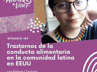 E189: Trastornos de la conducta alimentaria en la comunidad latina en EEUU
