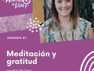 E087: Meditación y gratitud