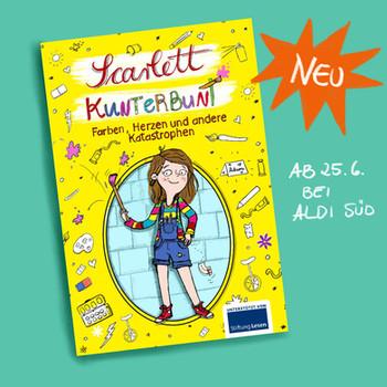 Comicroman_Scarlett Kunterbunt_Anne sche