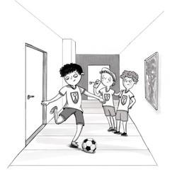 Fußball_Jungen_Kinderbuchillustration_Te