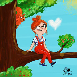 Valentina_Kinderbuchillustration