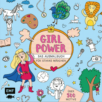 Girlpower_Malbuch