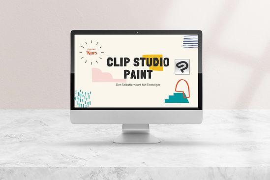 imac Clip Studio Paint für Einsteiger.jp