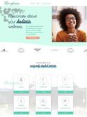 Web design for Langhams Medical