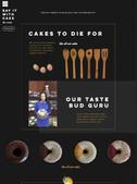 Web design for Zouné's