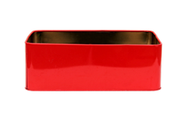 Red tin for rental