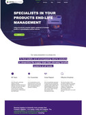 Web design for Antel Solutions
