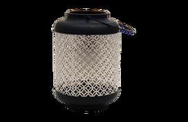 black and cream lanterns round for rent