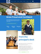 Web Design for Poplar Academy