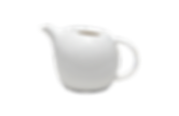 Round fat tea pot for rental