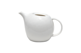 Round fat tea pot for rental