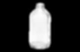 Glass bottle for rental