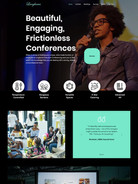 Web Design for Langhams Conferencing