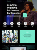 Web Design for Langhams Conferencing