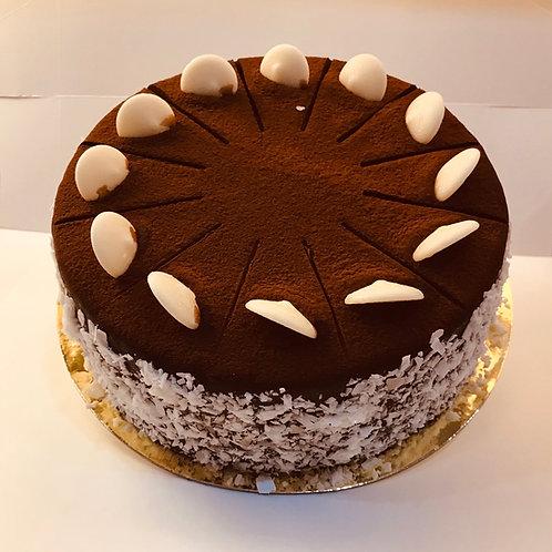 "Gluten Free Chocolate Hazelnut Cake 8"""