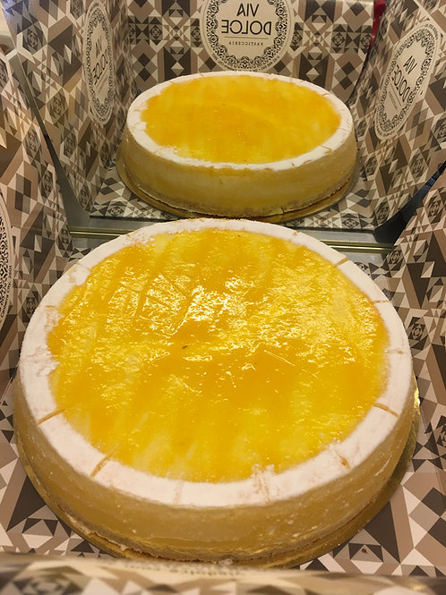 Mango Cheesecake 10 inch