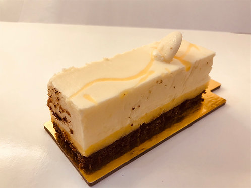 Lemon & White Chocolate Gluten Free slice