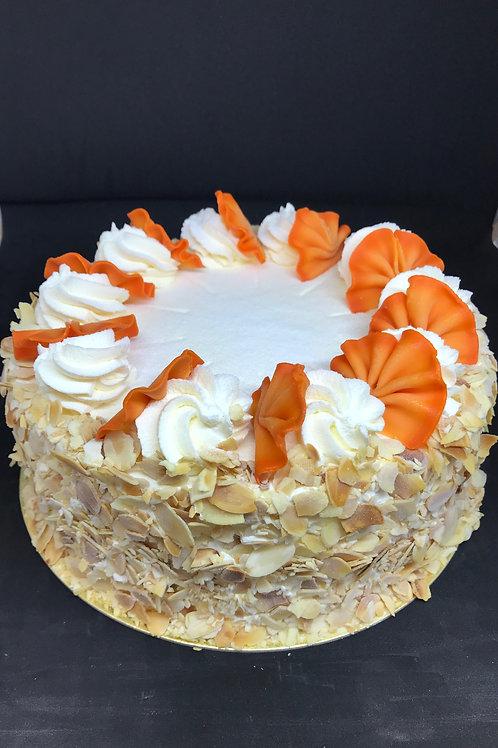 Vanilla Continental Cake 8 inch