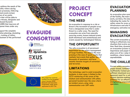 EVAGUIDE poster & brochure