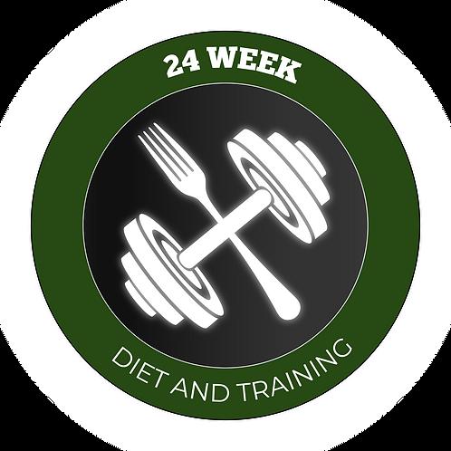 24 Week Diet & Training Plan