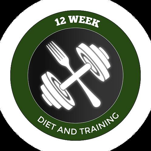 12 Week Diet & Training Plan