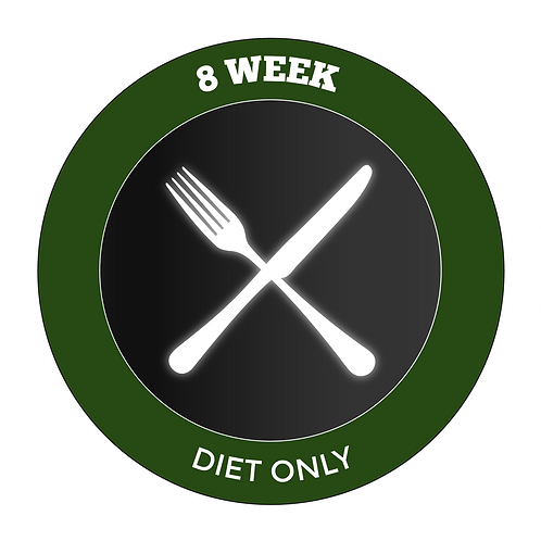 8 Week Diet Only