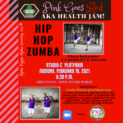 Zumba - Pink Goes Red_Square