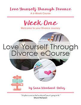 Love yourself through divorce ecourse