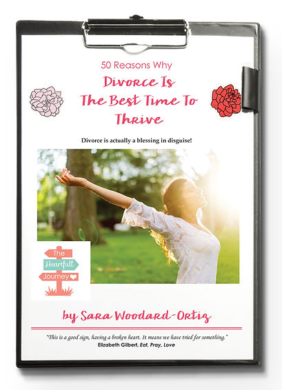Snag your free copy of 50 reasons divorce is the best time to thrive