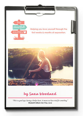 The HeartFull Sepration workbook. Helps moms through the first weeks and months of separation and divorce.