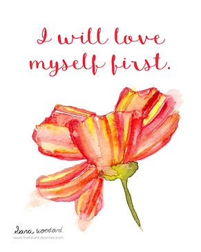 I will love myself first divorce quote