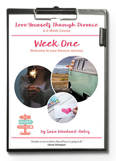 Love Yourself Through Divorce. An ecourse that helps women survive divorce.