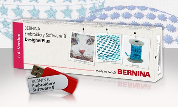 Bernina software V8