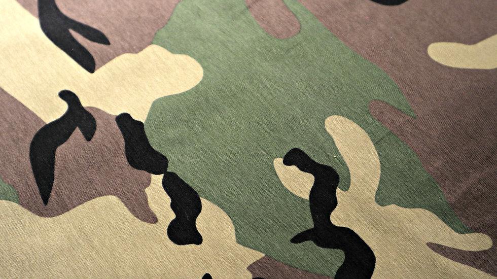 Army print groen
